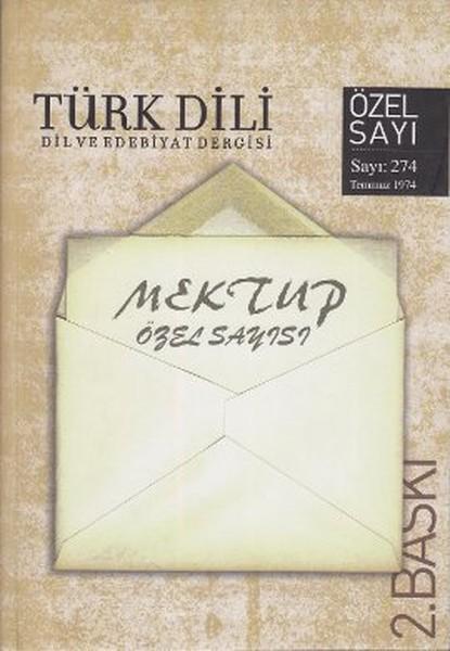 Türk Dili Sayı 274: Mektup Özel Sayısı.pdf