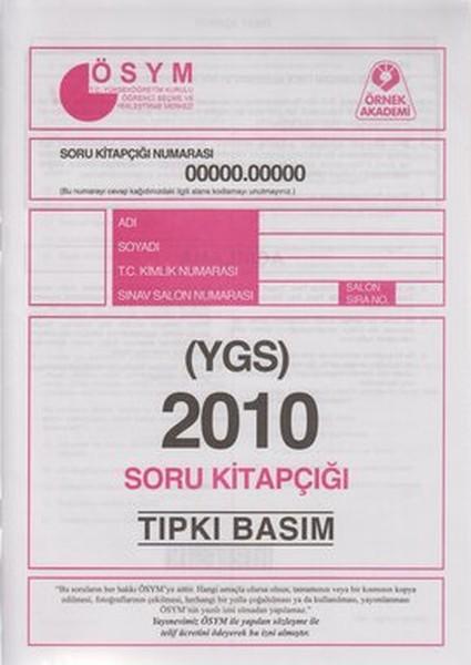 YGS 2010 Soru Kitapçığı (Tıpkı Basım).pdf