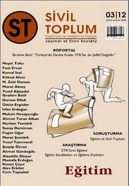 Sivil Toplum Dergisi Sayı: 12 Eğitim.pdf