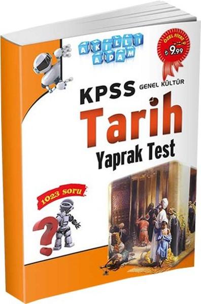 Akıllı Adam KPSS Genel Kültür Tarih Yaprak Test.pdf