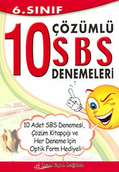 6. Sınıf 10 Çözümlü SBS Denemeleri.pdf