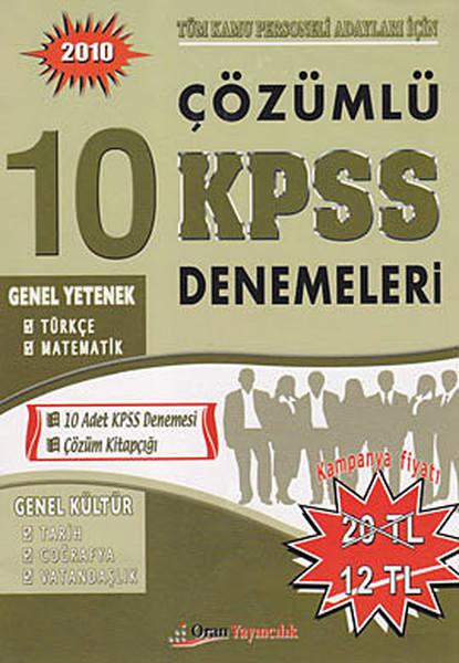 2010 Çözümlü 10 KPSS Denemeleri.pdf