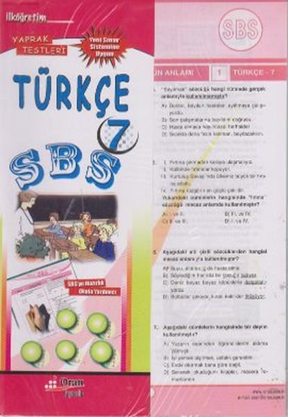 SBS Türkçe 7 Yaprak Testleri.pdf