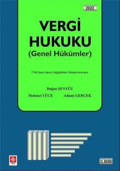 Vergi Hukuku - Genel Hükümler.pdf