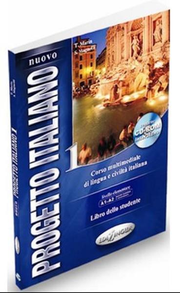 Nuovo Progetto Italiano 1 +CD ROM (İtalyanca Temel ve Orta-Alt Seviye).pdf
