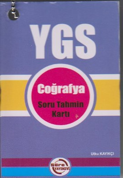 YGS Coğrafya Soru Tahmin Kartı.pdf