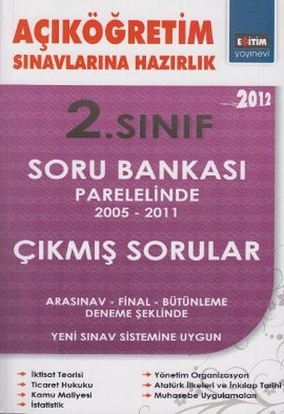 Açıköğretim Sınavlarına Hazırlık 2. Sınıf Soru Bankası Paralelinde 2005 - 2011 Çıkmış Sorular.pdf