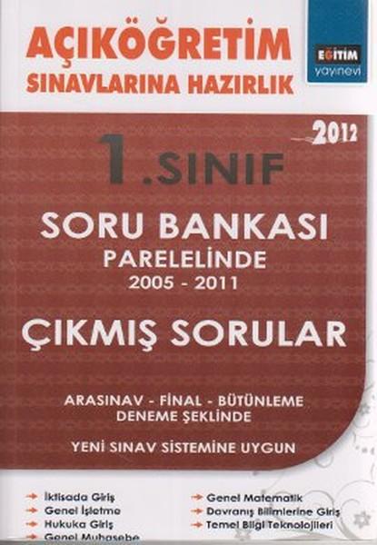 Açıköğretim Sınavlarına Hazırlık 1. Sınıf 2012.pdf