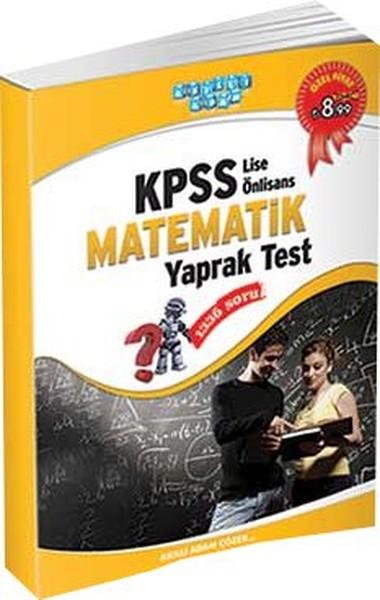Akıllı Adam KPSS Lise Önlisans Matematik Yaprak Test 2014.pdf