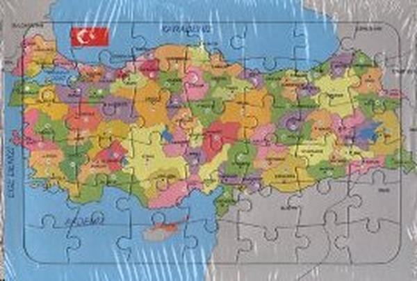 Türkiye Haritası Yapbozlu 25 X 35 Kolektif Fiyatı Satın Al