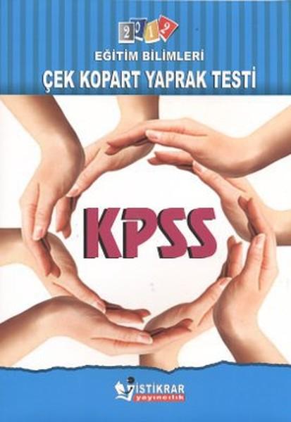 KPSS 2012 Eğitim Bilimleri Çek Kopart Yaprak Test.pdf