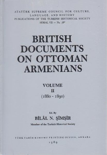 British Documents On Ottoman Armenians Volume 2 1880 - 1890.pdf