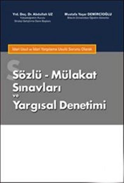 Sözlü Mülakat Sınavları ve Yargısal Denetimi.pdf