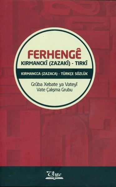 Ferhenge Kırmancki (Zazaki) - Tırki.pdf