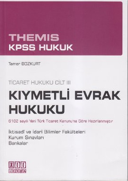 Themis KPSS Hukuk - Kıymetli Evrak Hukuku.pdf