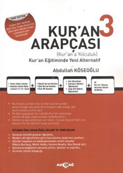 Kuran Arapçası 3. Kitap + Çözüm Kitabı.pdf