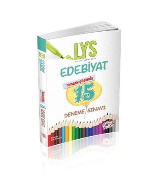 LYS Edebiyat Tamamı Çözümlü 15 Deneme Defteri.pdf