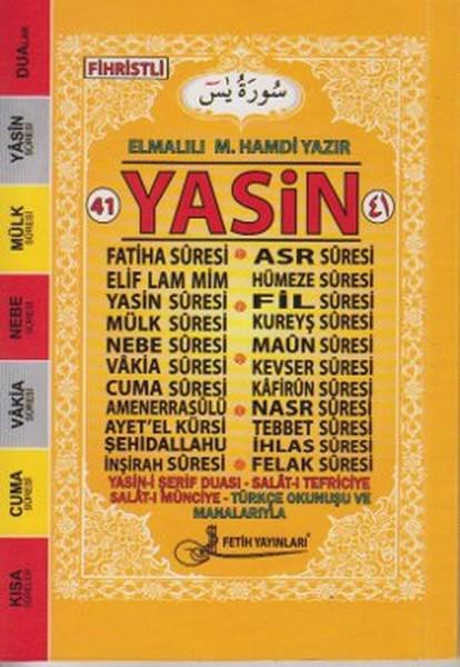 41 Yasin Türkçe Okunuşlu Mealli - Cep Boy (Fo19).pdf