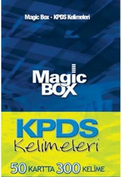Magic Box KPDS Kelimeleri (50 Kartta 300 Kelime).pdf