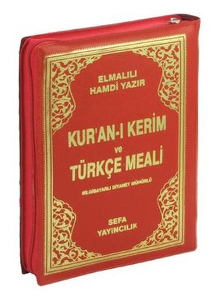 Kuran-ı Kerim ve Türkçe Meali - Çanta Boy, Kılıflı, Bilgisayar Hatlı, Renkli.pdf