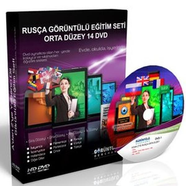 Rusça Eğitim Seti Orta Düzey Türkçe Anlatım 14 DVD.pdf