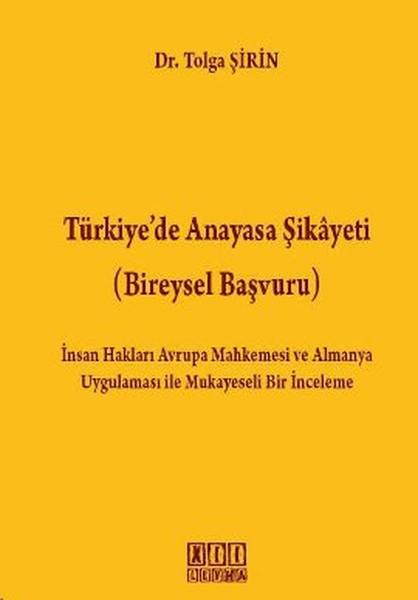 Türkiyede Anayasa Şikayeti (Bireysel Başvuru).pdf