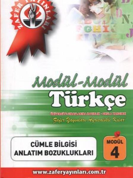 Modül - Modül Türkçe: Cümle Bilgisi, Anlatım Bozuklukları (Modül 4).pdf