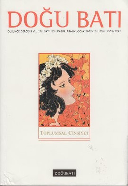 Doğu Batı Düşünce Dergisi Sayı: 63 - Toplumsal Cinsiyet 1.pdf