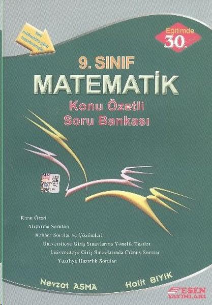 9. Sınıf Matematik Konu Özetli Soru Bankası