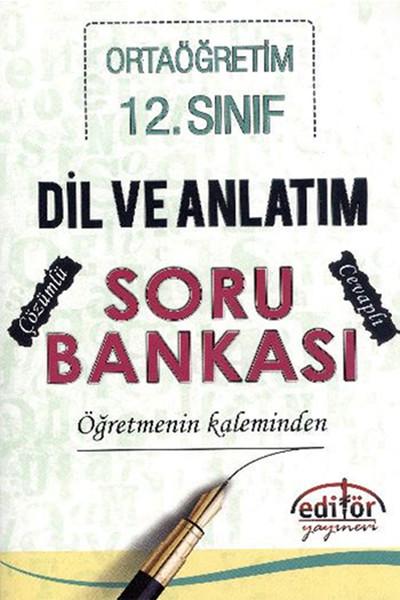 Ortaöğretim 12. Sınıf Dil Ve Anlatım Soru Bankası.pdf