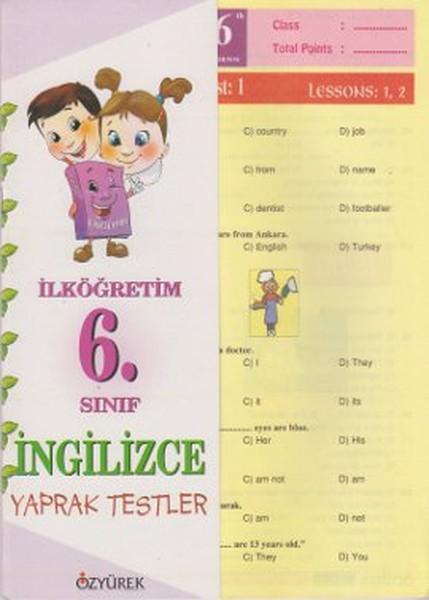 İngilizce Yaprak Testler 6. Sınıf.pdf
