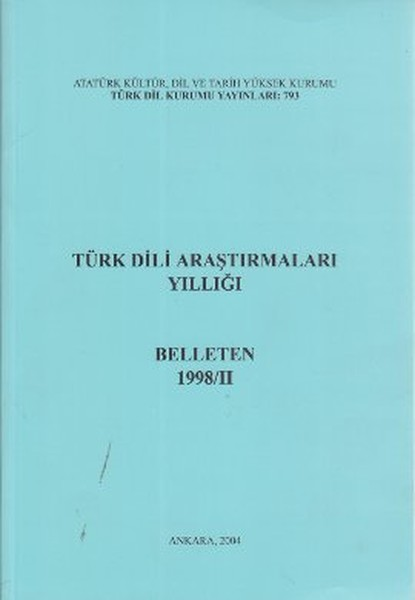 Türk Dili Araştırmaları Yıllığı-Bel.pdf
