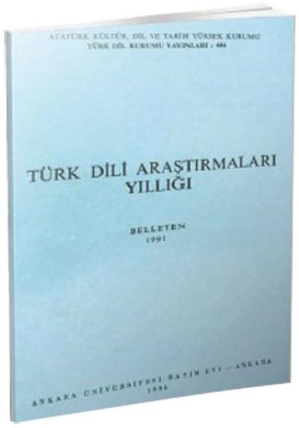 Türk Dili Araştırmaları Yıllığı - Belleten 1991.pdf