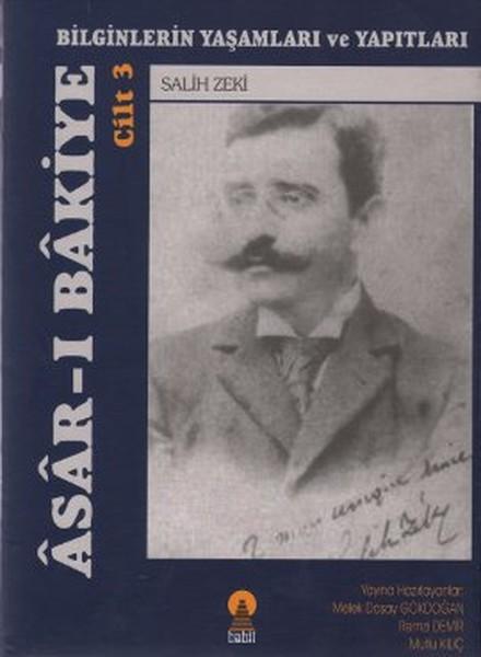 Asar-ı Bakiye Cilt 3: Bilginlerin Yaşamları ve Yapıtları.pdf