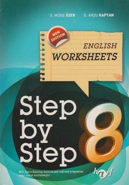 Step by Step English Worksheets 8.pdf