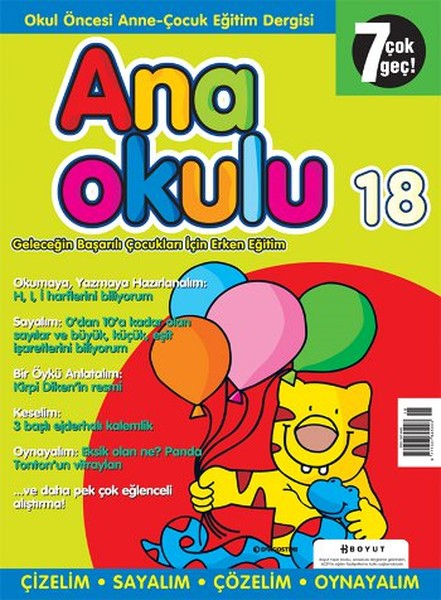 Anaokulu Sayı: 18 Anne - Çocuk Eğitim Dergisi.pdf