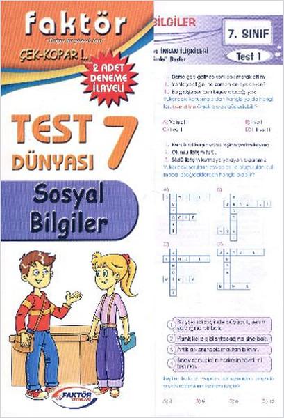 Faktör 7. Sınıf Sosyal Bilgiler Test Dünyası.pdf