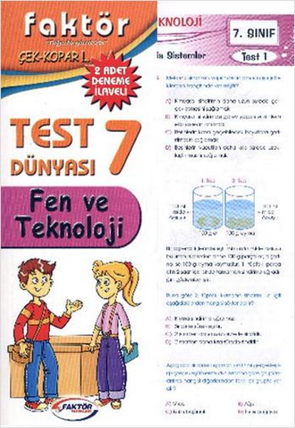 Faktör 7. Sınıf Fen ve Teknoloji Test Dünyası.pdf