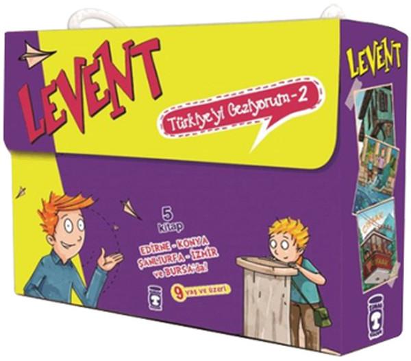 Levent Türkiyeyi Geziyor 2 - 5 Kitap Takım.pdf