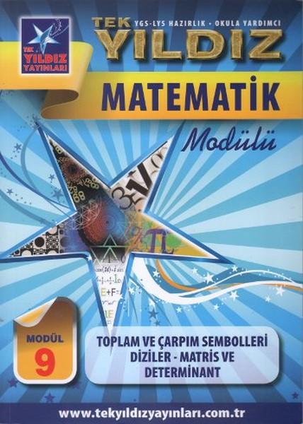Matematik Modülü 9 - Toplam ve Çarpım Sembolleri, Diziler, Matris ve Determinant.pdf