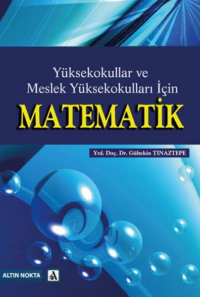 Yüksekokullar ve Meslek Yüksekokulları İçin Matematik.pdf
