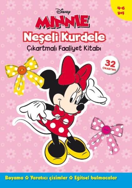 Minnie Neşeli Kurdele - Çıkartmalı Faaliyet Kitabı.pdf