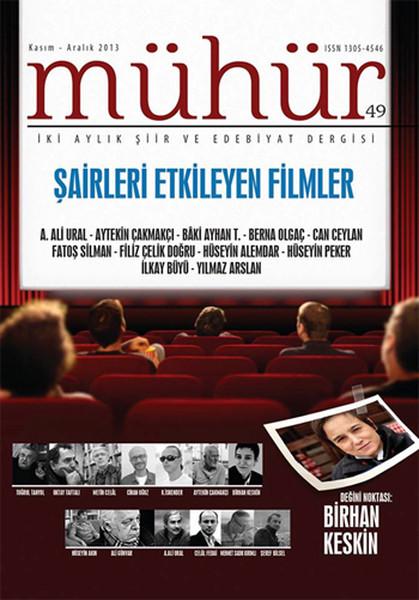 İki Aylık Şiir ve Edebiyat Dergisi Kasım - Aralık 2013 - Mühür Sayı: 49.pdf