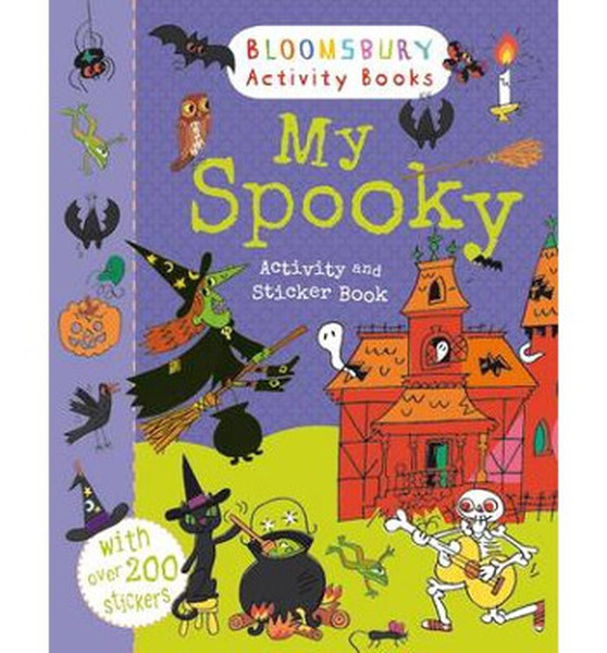 My Spooky Activity and Sticker Book (Holiday Activity and Sticker Books).pdf