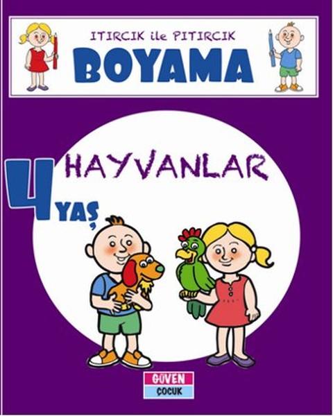 Itırcık ile Pıtırcık Boyama 4 Yaş - Hayvanlar.pdf
