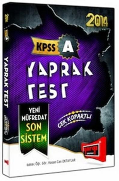 2014 KPSS A Yaprak Test.pdf