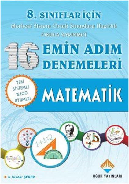 8. Sınıflar İçin 16 Emin Adım Denemeleri - Matematik.pdf