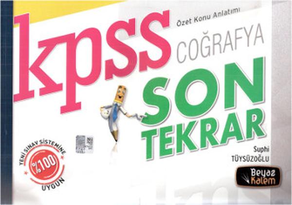 Beyaz Kalem KPSS Coğrafya Son Tekrar Özet Konu Anlatımı 2014.pdf
