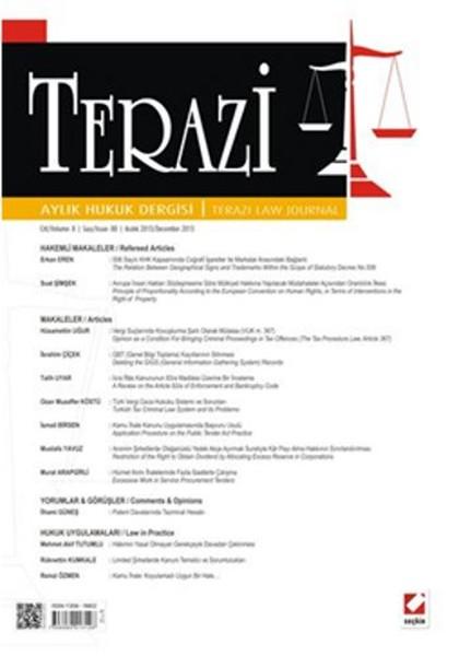 Terazi Aylık Hukuk Dergisi - Sayı 88.pdf