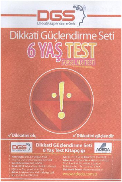 Dikkati Güçlendirme Seti 6 Yaş Yaprak Test.pdf